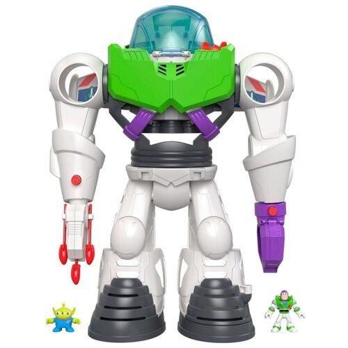 Фото - Интерактивная игрушка робот-трансформер Imaginext История игрушек Базз Лайтер GBG65 белый/серый/зеленый printio базз лайтер история игрушек