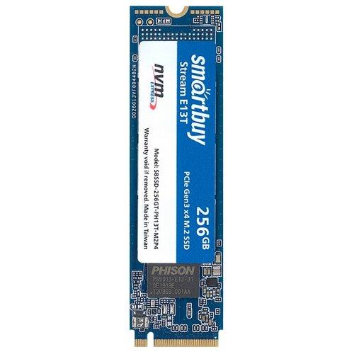 Твердотельный накопитель SmartBuy 256 GB (Stream E13T 256 GB (SBSSD-256GT-PH13T-M2P4)) синий