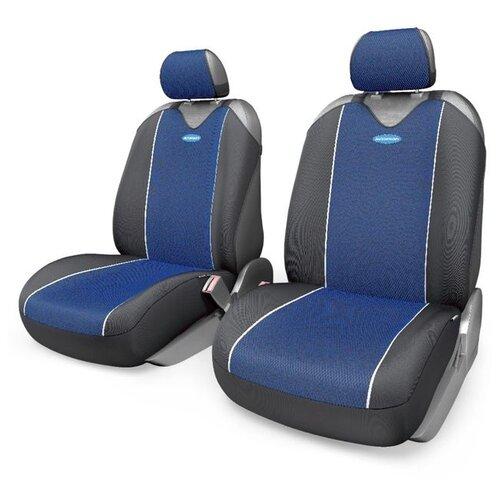 Комплект чехлов AUTOPROFI R-402Pf черный/синий autoprofi crb 402pf carbon plus