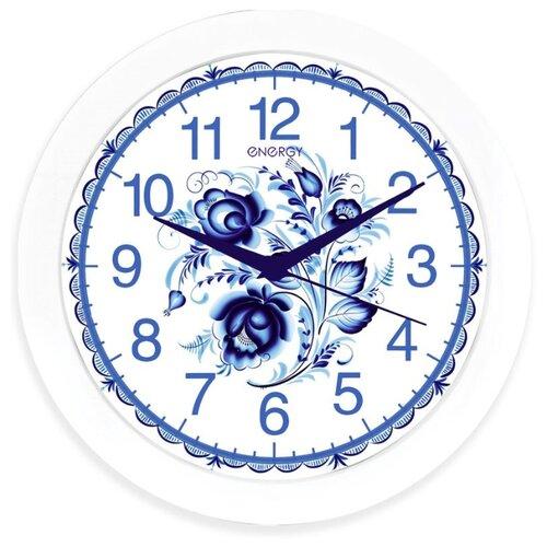 Часы настенные кварцевые Energy ЕС-102 гжель часы настенные energy d300мм