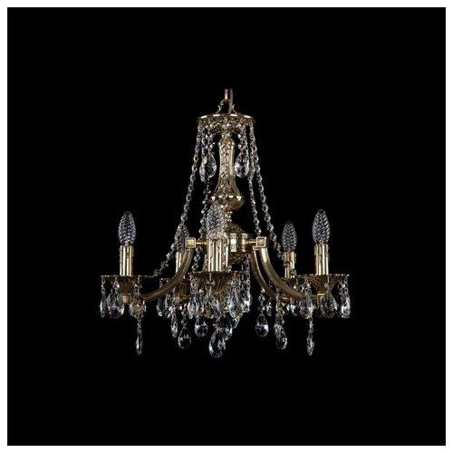 Фото - Люстра Bohemia Ivele Crystal 1771 1771/5/150/A/GB, 200 Вт люстра bohemia ivele 1771 6 150 a g
