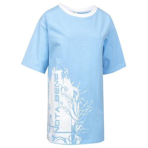 Купить Футболка Nota Bene размер 158, голубой, Футболки и майки