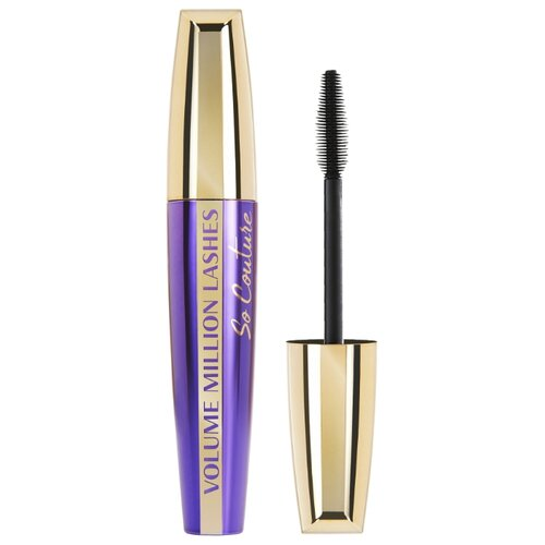 L'Oreal Paris Тушь для ресниц Volume Million Lashes So Couture, черный