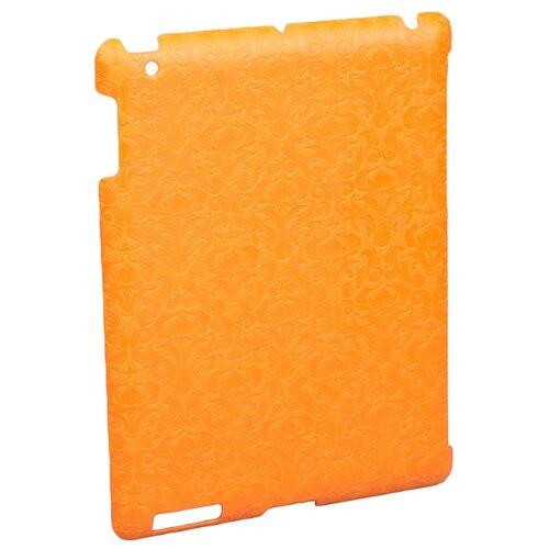 Чехол iBest Vignette BCVII4 для Apple iPad 2/3/4 оранжевый