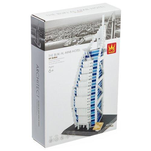 Купить Конструктор Wange World's Great Architecture 5220 Отель Бурдж-эль-Араб, Конструкторы