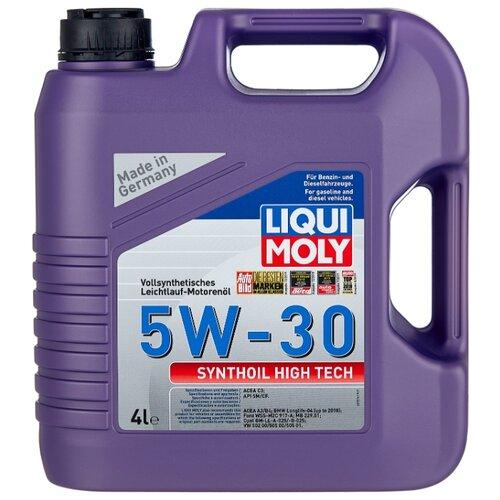 Синтетическое моторное масло LIQUI MOLY Synthoil High Tech 5W-30 4 л