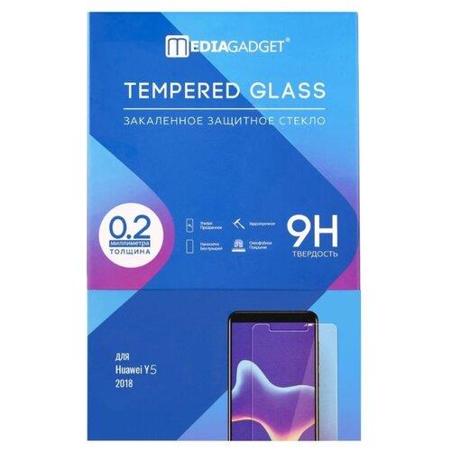 Защитное стекло Media Gadget Tempered Glass для Huawei Y5 2018 прозрачный
