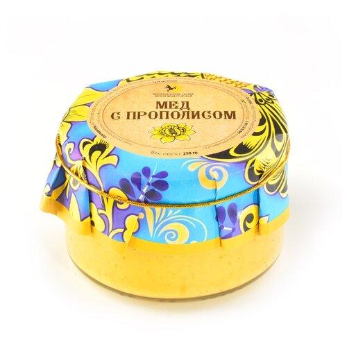 Крем-мед Мед и Конфитюр Русский стиль с прополисом 230 г фото