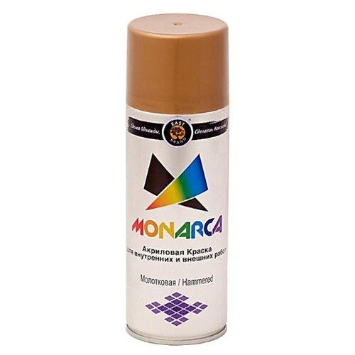 Краска Eastbrand Monarca молотковая коричневый 520 мл