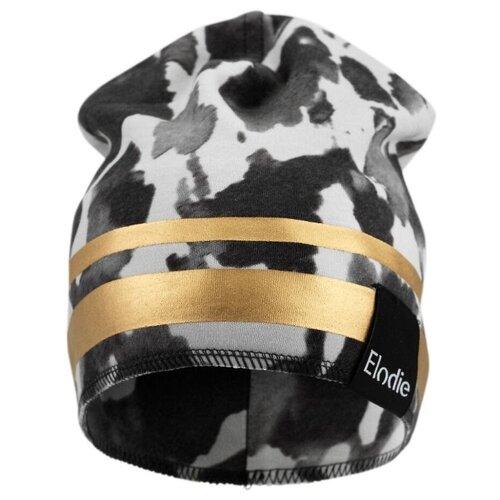 Шапка-бини Elodie размер 3 года, белый/черный/золотой шапка elodie размер 2 3 года rebel poodle