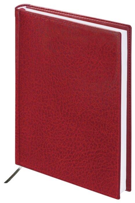 Ежедневник BRAUBERG Profile недатированный, искусственная кожа, А5, 160 листов
