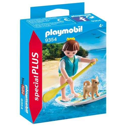 Купить Конструктор Playmobil Special Plus 9354 Серфингистка, Конструкторы