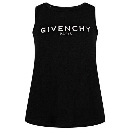 Купить Майка GIVENCHY размер 152, черный, Футболки и майки
