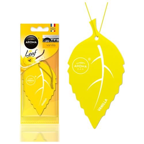 Ароматизатор автомобильный (подвесной) Aroma Car Leaf, Vanilla