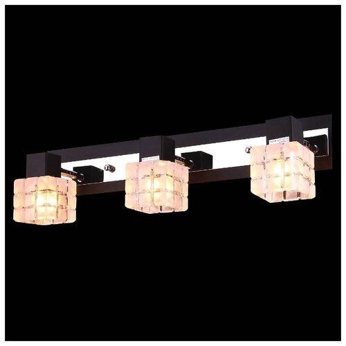 Настенный светильник Natali Kovaltseva 10708/3W WENGE, 120 Вт natali kovaltseva бра natali kovaltseva alps 11368 1w wenge венге