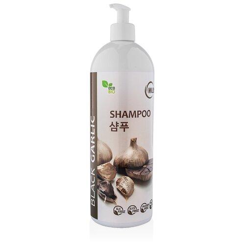 Wilds Шампунь против выпадения волос Black Garlic Shampoo 1000 мл с дозатором