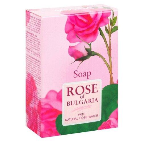 Фото - Мыло кусковое Rose of Bulgaria с натуральной розовой водой, 100 г мыло кусковое кедровое с льняным маслом аю дух леса 115 г