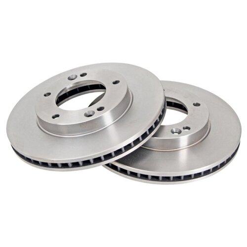 Комплект тормозных дисков передний NIPPARTS J3300315 302x28 для Kia Sorento (2 шт.)