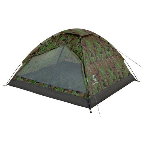 Палатка Jungle Camp Fisherman 4 камуфляж палатка jungle camp lite dome 4 mono dome 4 зеленый серый 70813 70883