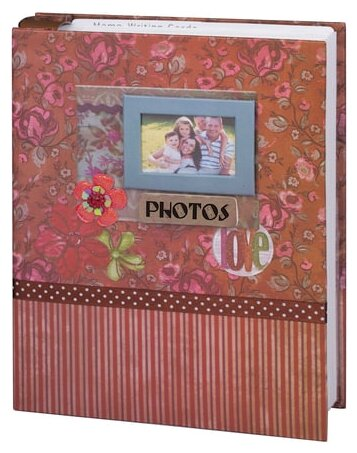 Фотоальбом BRAUBERG Семья 10х15 см 50 листов