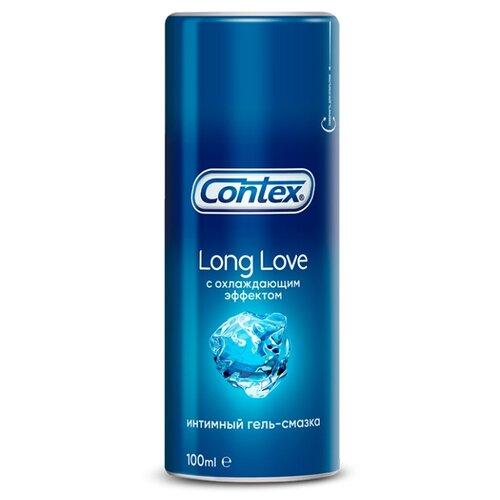 Гель-смазка Contex Long Love с охлаждающим эффектом 100 мл флакон