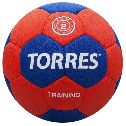 Мяч для гандбола TORRES H30052 красный/синий
