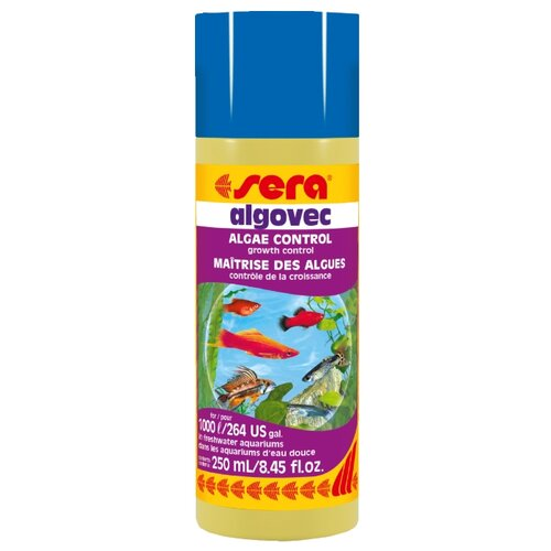 Sera Algovec средство для борьбы с водорослями, 250 мл