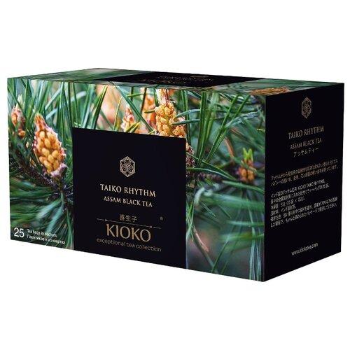 Чай черный Kioko Taiko rhythm в пакетиках, 25 шт.