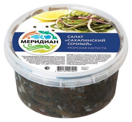 Меридиан Салат из морской капусты Сахалинский сочный
