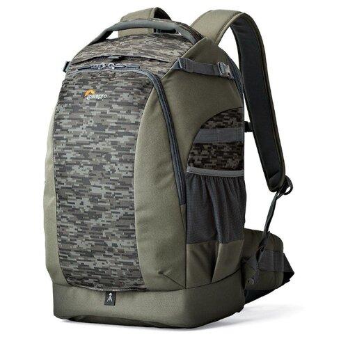 Фото - Рюкзак для фотокамеры Lowepro Flipside 500 AW II mica/pixel camo сумка для фотокамеры lowepro toploader zoom 45 aw ii синий