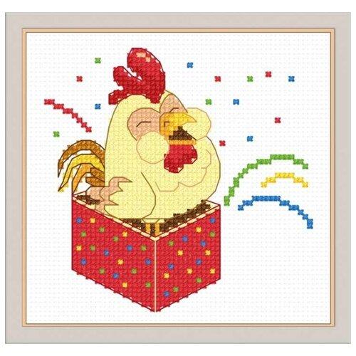 Купить Овен Набор для вышивания Сюрприз 11 x 11 см (918), Наборы для вышивания