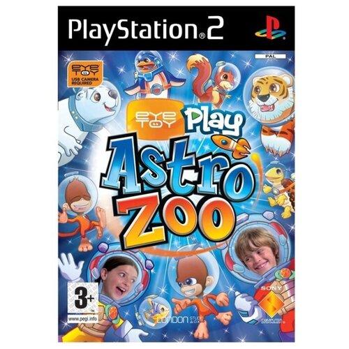 Игра для PlayStation 2 EyeToy: Play Astro Zoo, английский язык