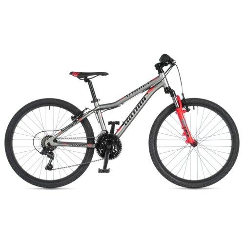 Фото - Подростковый горный (MTB) велосипед Author A-Matrix 24 (2020) silver/red 12.5 (требует финальной сборки) горный mtb велосипед merida matts 7 20 2020 glossy purple lilac s требует финальной сборки