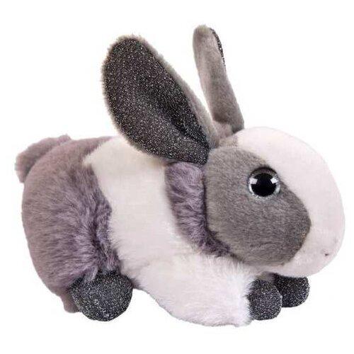 Мягкая игрушка Junfa toys Кролик серый 15 см