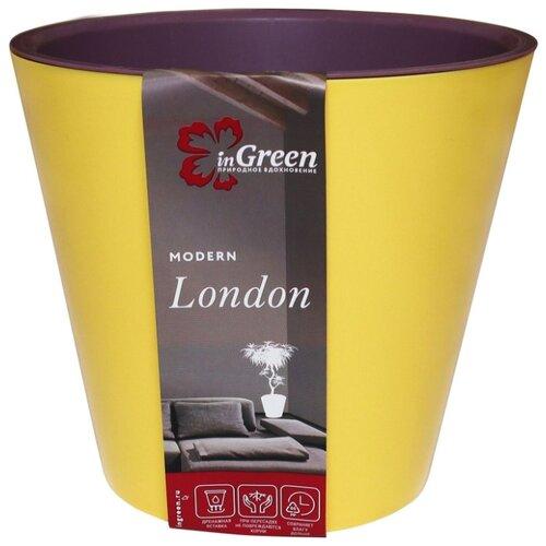 Кашпо InGreen London ING6206, 5л, 23х20.8 см спелая груша