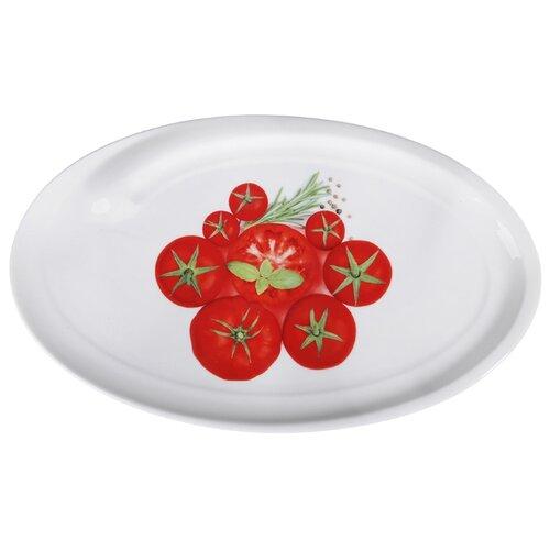 Millimi Блюдо Таверна 32 x 19.5 x 1.5 см белый
