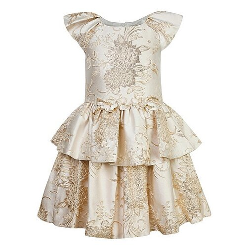 Платье David Charles размер 92, бежевый