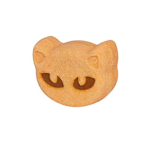 Лаборатория Катрин Бурлящая фигурка для ванн Рыжая кошка, 130 г 99 087 01 фигурка кошка албезия о бали мал 1238280