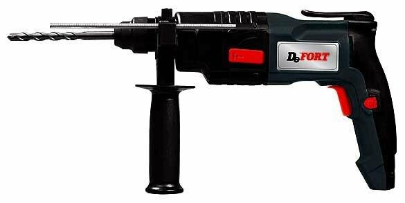 Перфоратор сетевой DeFort DRH-500 (2 Дж)
