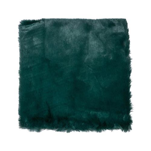 Мех искусственный Арт Узор для творчества 1200 г/м, 30х30 см темно-зеленый