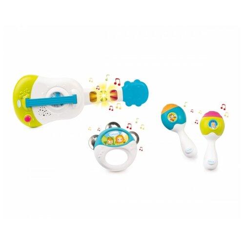 Купить Smoby набор инструментов Cotoons 110507 белый/голубой/зеленый, Детские музыкальные инструменты