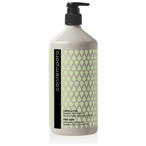 Купить Barex Кондиционер для волос Contempora Volumizing Conditioner для придания объема с маслом облепихи и огуречным маслом, 1000 мл