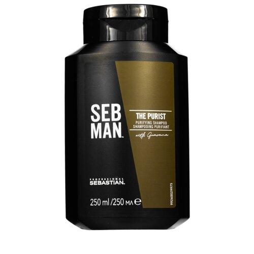 SEBASTIAN Professional шампунь Seb Man The Purist 250 мл seb man the purist purifying shampoo