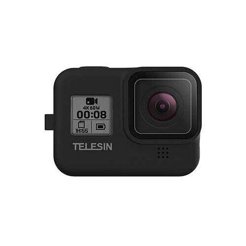 Фото - Telesin Силиконовый чехол для GoPro HERO8 черный медиа модуль с микрофоном gopro hero8 ajfmd 001