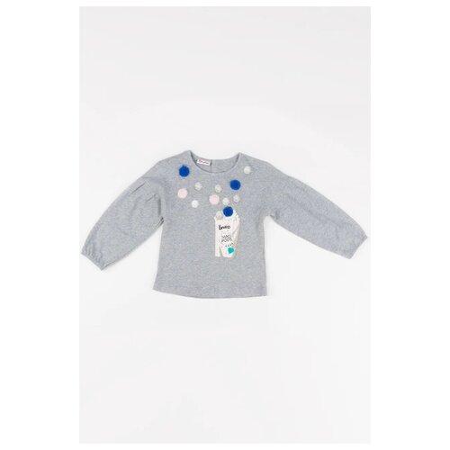 Купить Лонгслив Brums размер 9М (74), серый, Футболки и рубашки