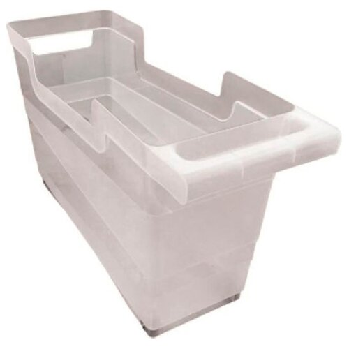 BranQ Контейнер хозяйственный 12,5 л 45х16×25,5 см прозрачный branq контейнер хозяйственный 12 5 л 45х16×25 5 см прозрачный