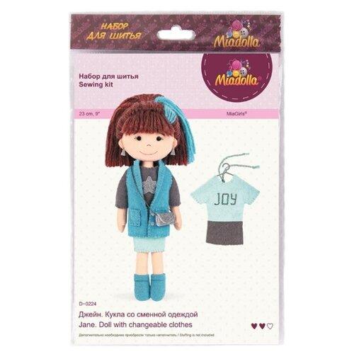 Miadolla Набор по изготовлению игрушки Джейн (D-0224), Изготовление кукол и игрушек  - купить со скидкой