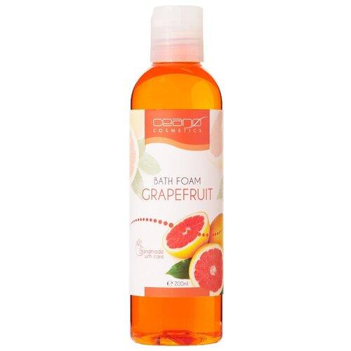 Ceano Cosmetics Пена для ванн Грейпфрут, 200 мл ceano cosmetics кремер для ванн малина 40 г