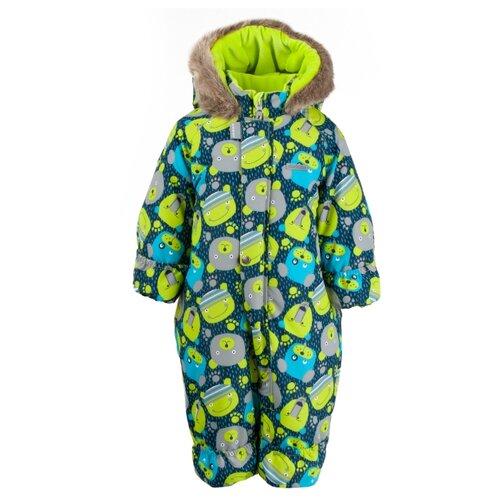 Купить Комбинезон KERRY ZOO K19406 размер 74, 1049 зеленый, Теплые комбинезоны