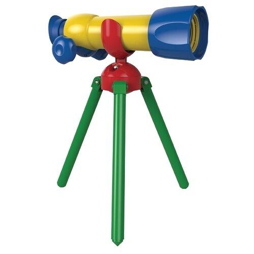 Купить Телескоп Edu Toys My First 15X (JS005) желтый/синий, Детские микроскопы и телескопы